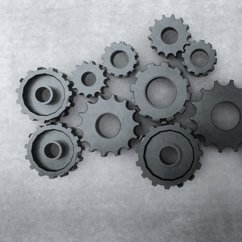 a bunch of gears